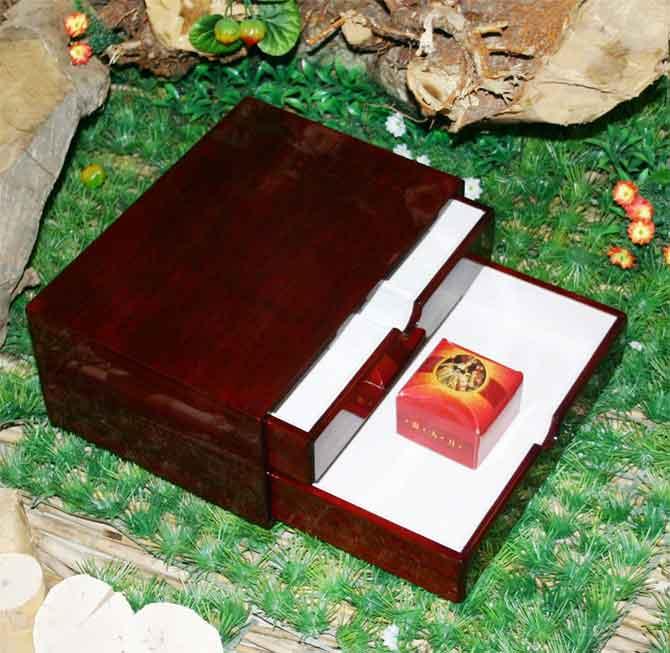 山东公司木匠大师红酒木盒哑光礼盒酒盒
