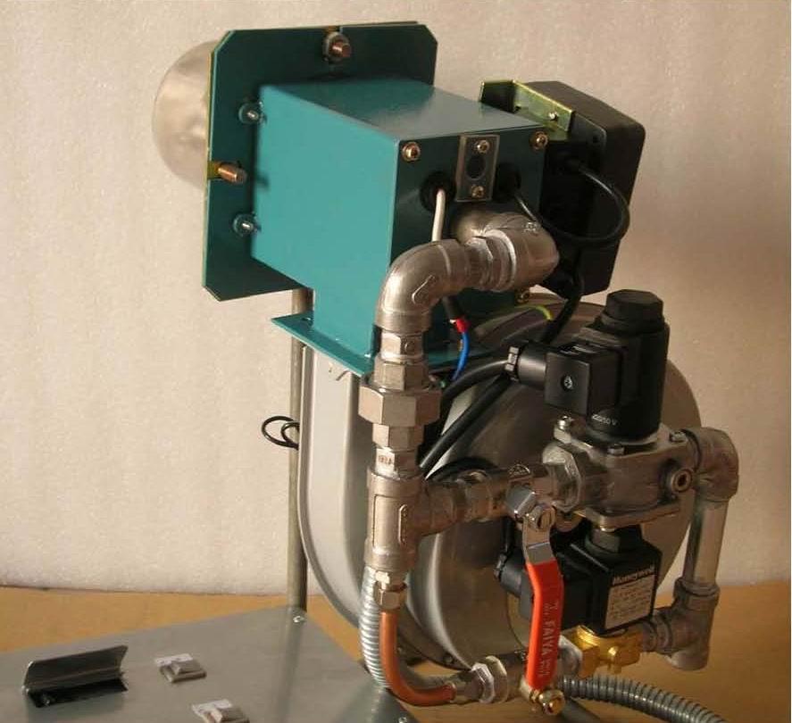 riello rs20燃烧机安装图解
