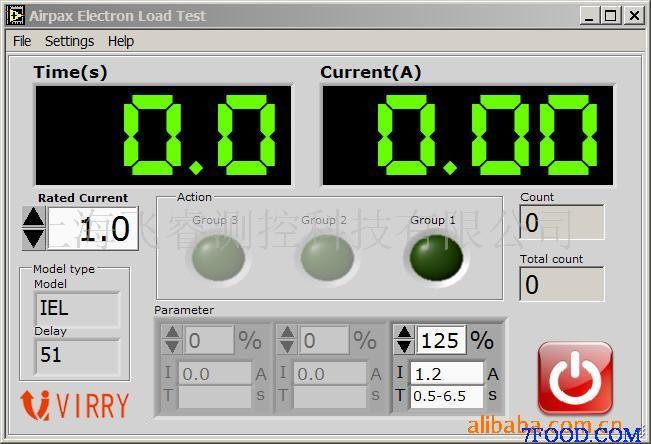 测试台介绍 本试验台完成对断路器断路时间的测试,可以检测延时和非延时型漏电断路器(A型Ac型)的动作时间和电流。它能够根据标准规定判断测量到的动作时问是否正确。 系统要求 通过控制电子负载的输出电流,来计算断路器断路时间。 可以手动或自动检测延时和非延时型,脉冲直流A型和交流Ac型漏电断路器的动作时间和电流。并可直接在插座上测量接地电阻(测量中不促动漏电断路器跳制)。 系统功能 l 测量漏电断路器的动作时间 l 测量漏电断路器的动作电流 l 在插座上直接测量接地电阻 l 测量接触电压 l 检测相线顺序并显