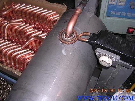 供应 空调压缩机铜管焊接