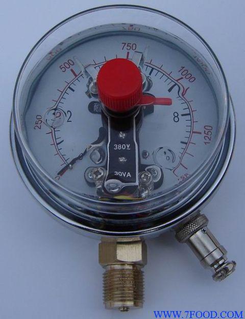 抗震(不锈钢)磁助电接点压力表