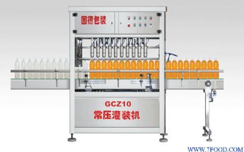 直线式灌装机(gcz 10)