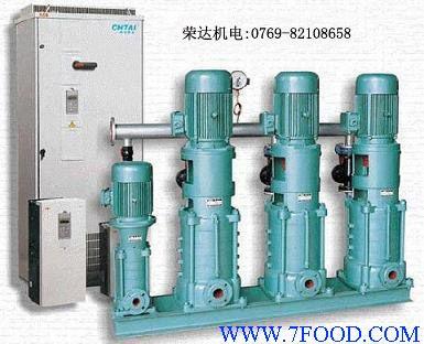 则通过变频器作工频/变频切换起动另一台水泵,使实际管网压力与设定压