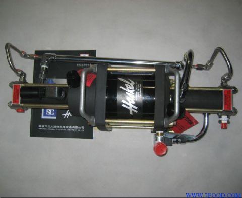 ·工作原理——气动增压泵利用大面积