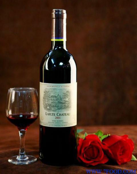 食品成品 酒类 葡萄酒,香槟 拉菲堡干红系列2001(750ml/支) 【手机版