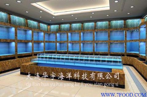 亚克力鱼缸设计制作  大连华宇海洋科技有限公司专业承接水族馆,海洋