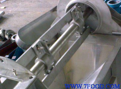 刮板式精制机  二,结构
