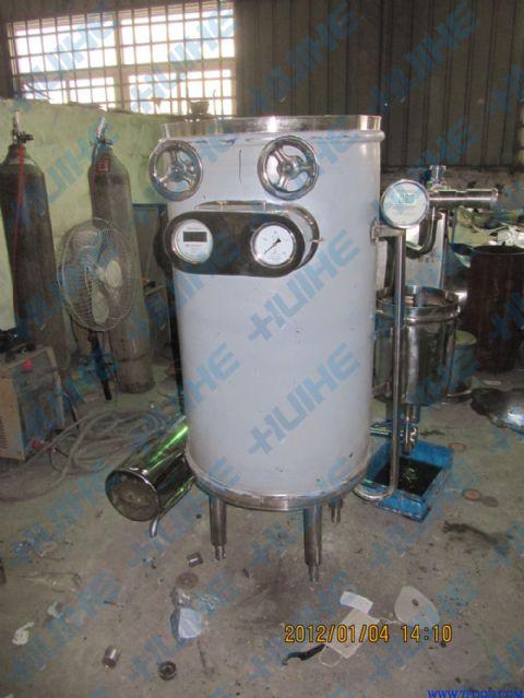 蒸汽uht用途超高温瞬时灭菌机采用套管结构,高效,节能,操作简单