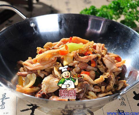 中国大厨最新特色菜 之聪厨干锅羊杂 食品原料