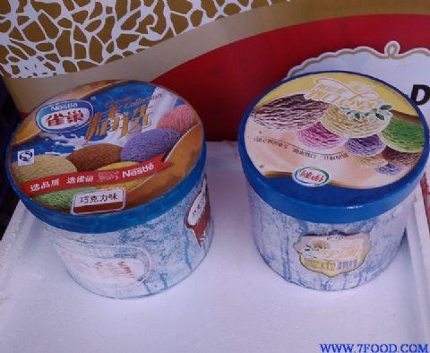 雀巢桶装冰淇淋7升大桶香草香芋经典口味