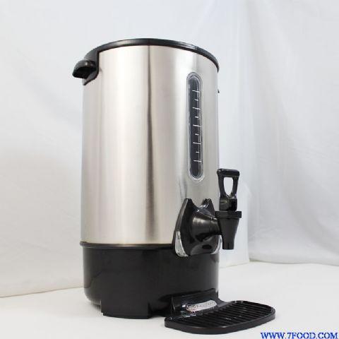 奥莱康欧式不锈钢电热开水桶双层30l(kst-s-30l)