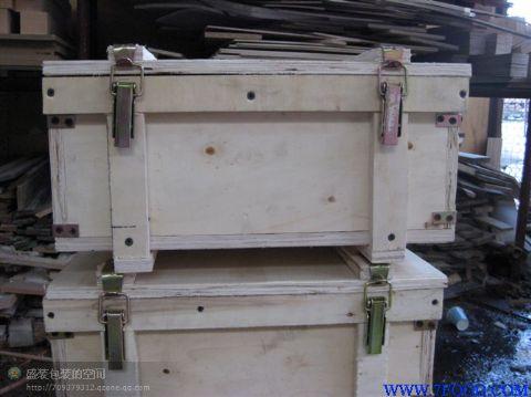 免熏蒸木箱,框架箱