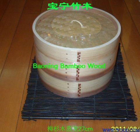 白杨木蒸笼,便当盒等,区分:圆形