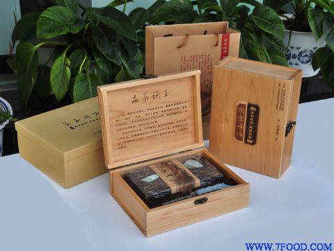 铁观音包装箱是木头相图片