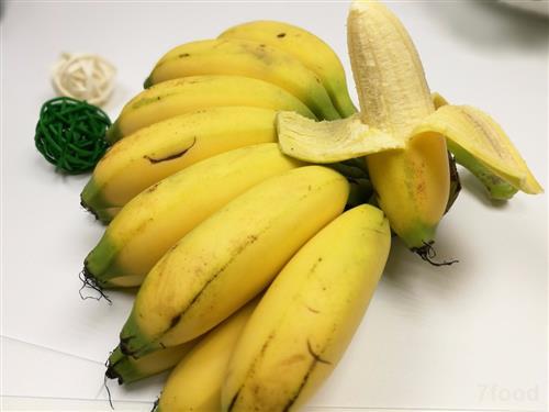 皇帝蕉个头小味道好 皇帝蕉的营养与功效介绍