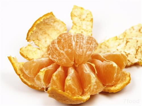 健康养生:橘子身藏四种中药