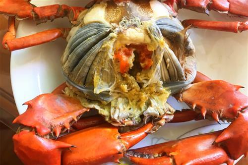 吃螃蟹对身体有哪些好处图片