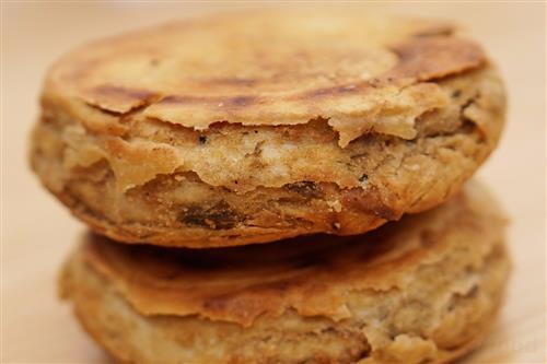 西安十大名小吃之千层油酥饼