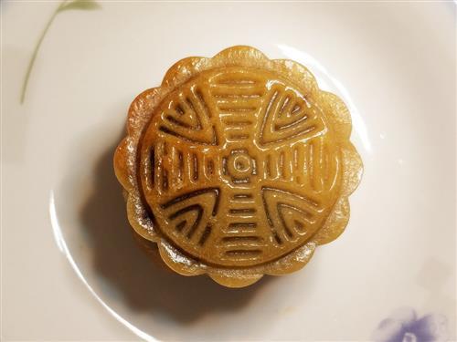 广式抹茶红豆沙月饼的做法