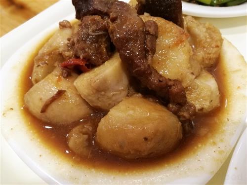 中秋节菜谱之葱油芋艿