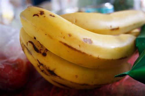 香蕉做小动物造型