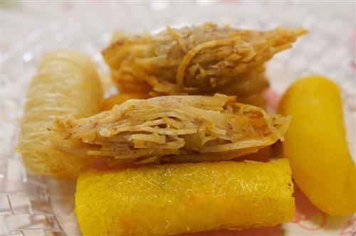 上海特色小吃之高桥松饼