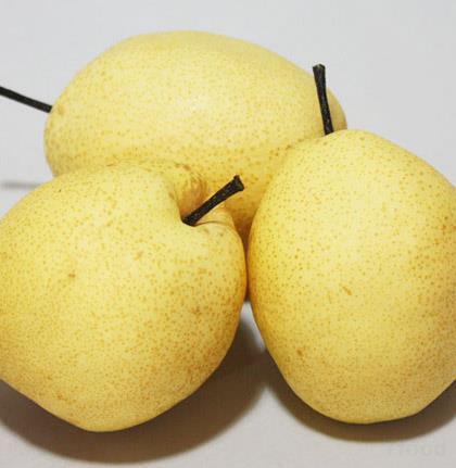 超轻粘土梨步骤图片