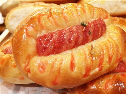 烤肠的制作图片
