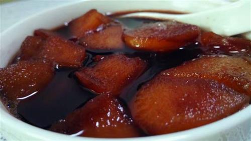 红酒煮苹果