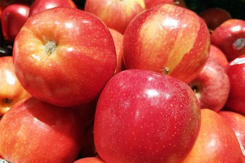 两个苹果图片大全可爱
