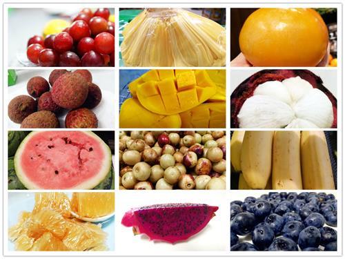 到西双版纳旅游有哪些一定要尝尝的美食——热带水果-西双版纳都有