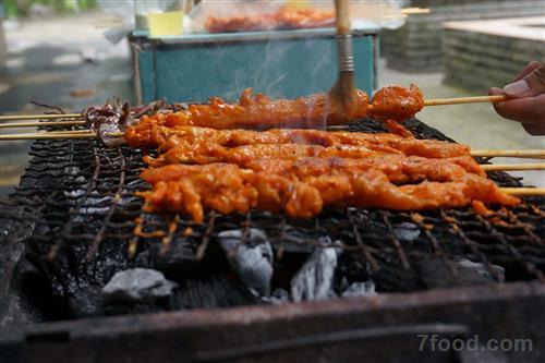 食物烟雾素材