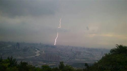 雷电天气的注意事项