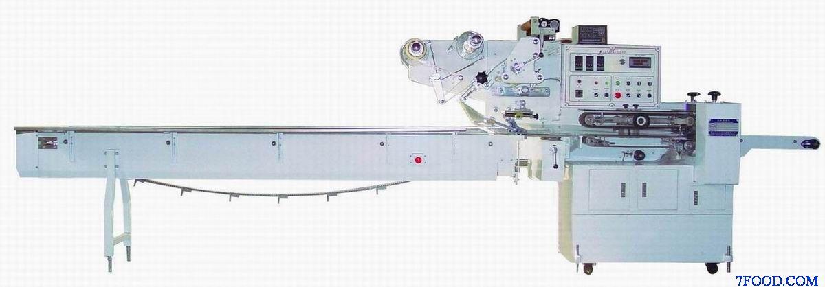 青岛松本sd型下送膜全自动枕式包装机图片
