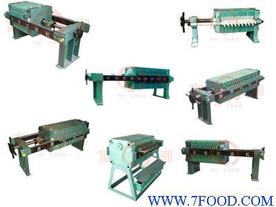 手动千斤顶板框压滤机(315—1000机型)图片