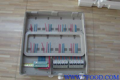 安装接线盒,漏电开关dz12,dz18,dz47, rcl熔断器以及隔离开关等.