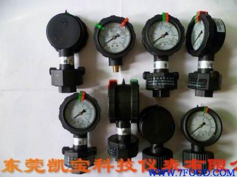 pp充油压力表