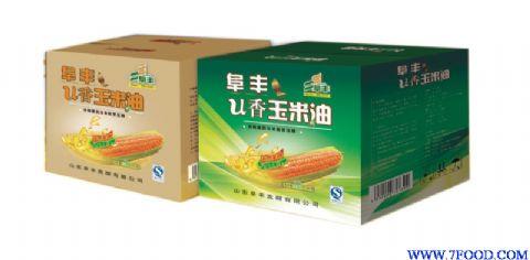 阜丰U香一级压榨玉米胚芽油