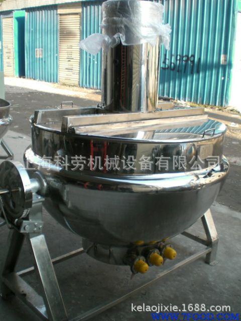 电加热双层蒸煮锅(300l)
