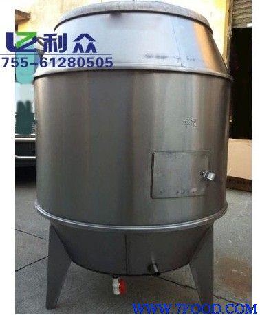 大铁桶加工木炭图片