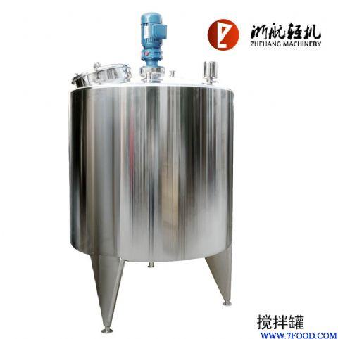 【搅拌机】立式搅拌机(不锈钢搅拌罐单层)图片