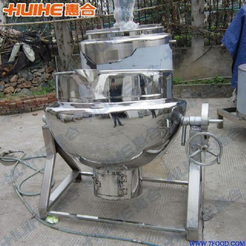 1,按结构形式分为:可倾式粽子夹层锅,立式粽子夹层锅结构      2