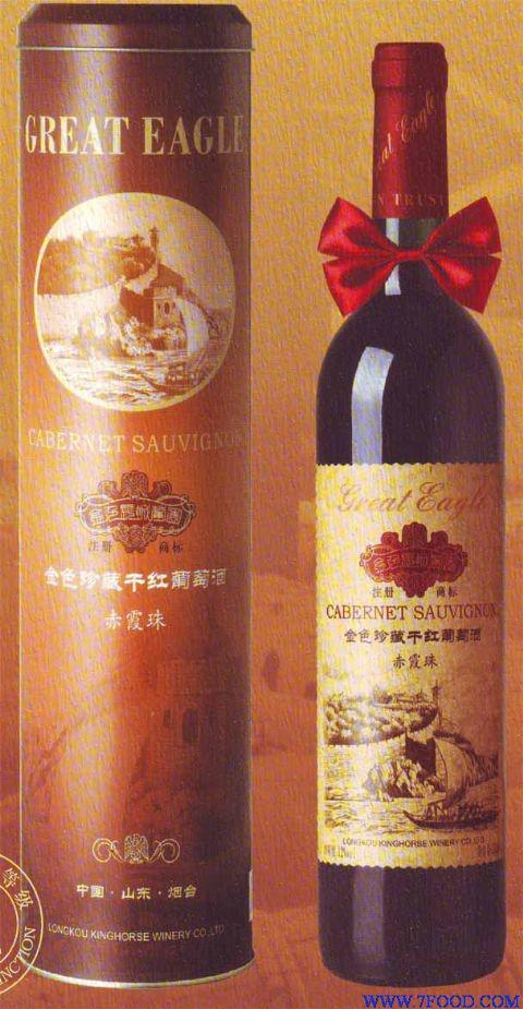 ;金色长城葡园红酒种类