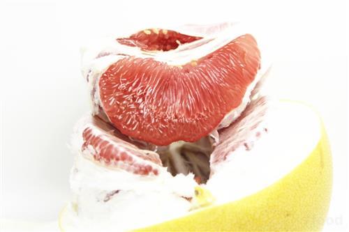 水果柚子简笔画彩色