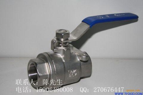 二片式不锈钢丝扣球阀(q11f-1000wog)图片